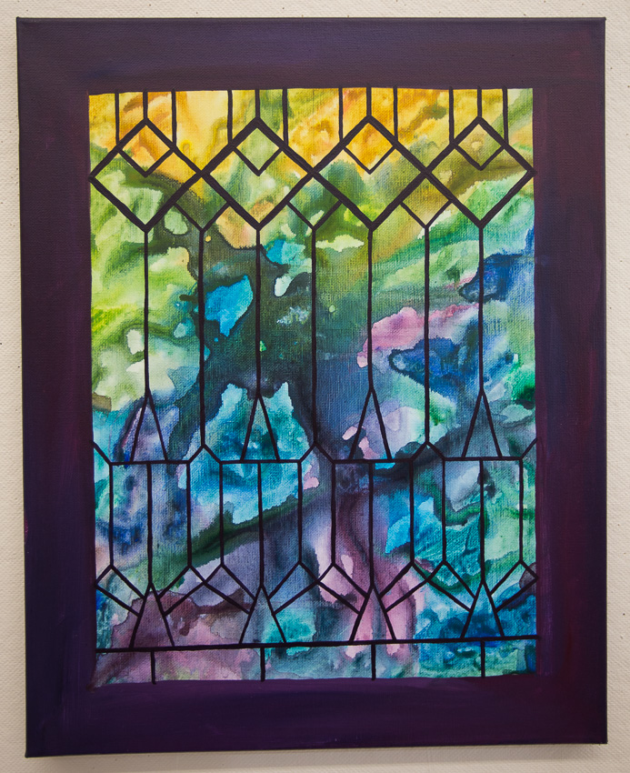 Stained Glass Window Series 1. © Karla Hovde 2013