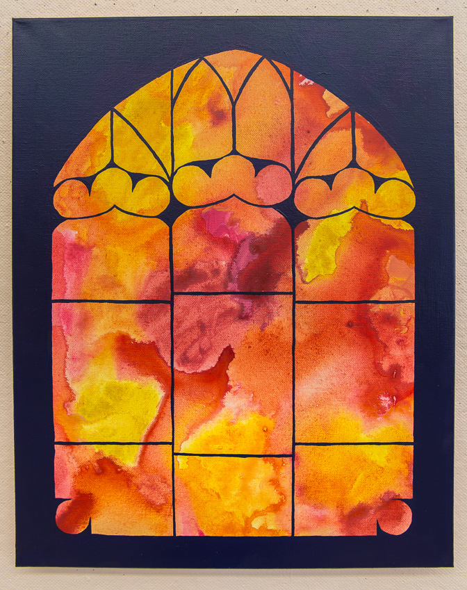 Stained Glass Window Series 2. © Karla Hovde 2013