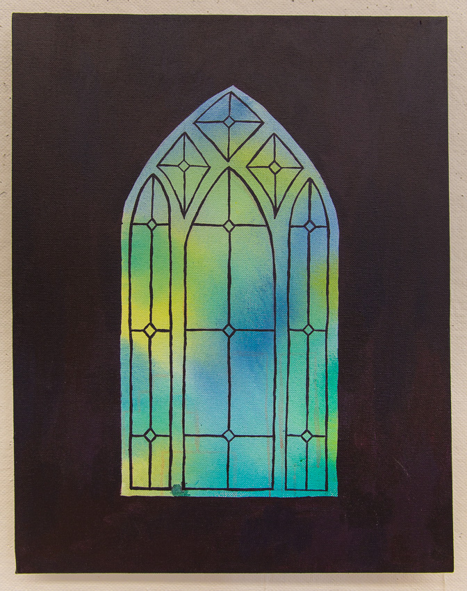 Stained Glass Window Series 3. © Karla Hovde 2013