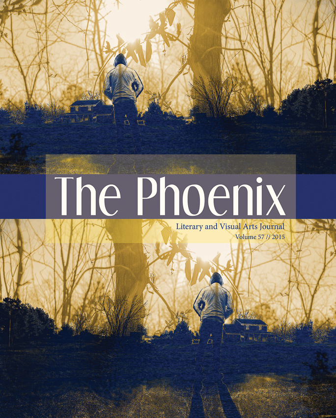 Cover for 2015 The Phoenix Literary and Visual Arts Journal